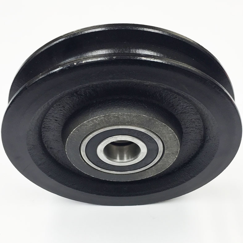 8 Inch Procraft Sheave With Ball Bearings Wesco Industries