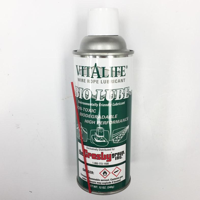 12 oz. Vitalife 410 Spray Bio Wire Rope Lubricant | Wesco Industries