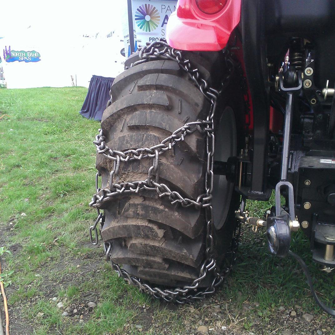 Farm Tractor Chains : Duo v bar grip farm tractor chains wesco industries